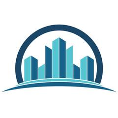 Emlak Gayrimenkul Ev Bina Apartman Logo Real Estate