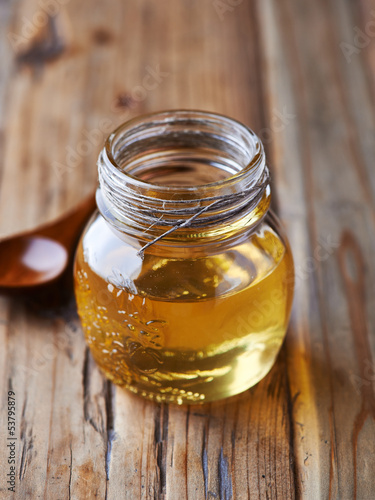 Jar of Acacia Honey