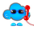 Cloud always answers the phone