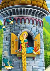 Rapunzel - Prince or princess - castles