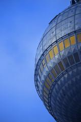 Fernsehturm Berlin Kuppel Nahaufnahme