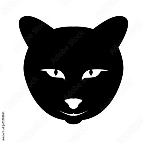 Katze Symbol Vektor Illustration