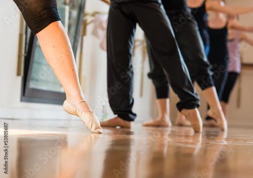 Danza classica, fuoco selettivo