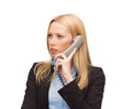 picture of confused woman with phone