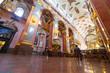 Interiors of Jasna Gora monastery in Czestochowa city, Poland