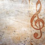 Fototapety musical grunge background