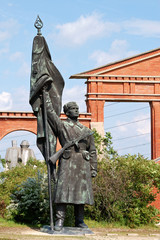 Russian statue Budapest, Hungary