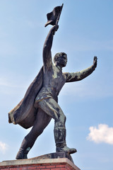 Russian statue Budapest, Hungary.