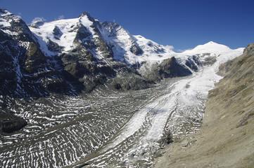 Großglockner und das Sterben eines Gletschers