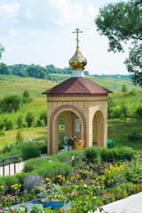 The chapel at the source of St.Matrona. Russia. city ​​Livny