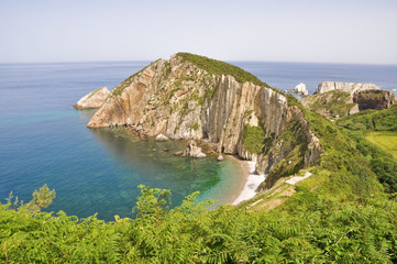 Playa del Silencio, Asturias (España)