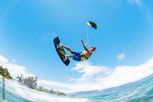 Fototapeta Kite Surfing