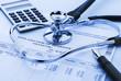 Leinwandbild Motiv Cost of health care
