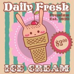 Ice Cream - Rabbit