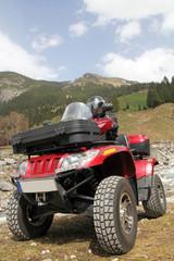 Das rote ATV