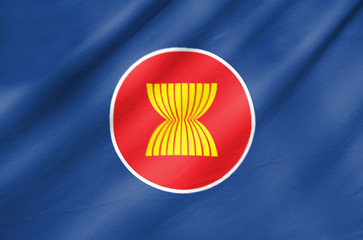 Fabric Flag of Asean Economic Community