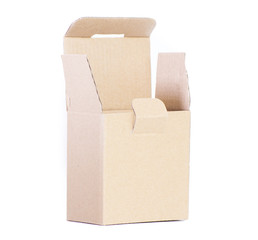 Cardboard box for packaging small items
