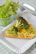 Curry Brokkoli Quiche