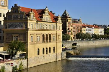 Moldau Prag