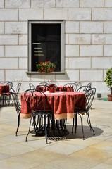 Cafe Restaurant tisch stühle