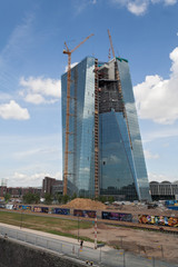 Neues Gebäude der Europäischen Zentralbank