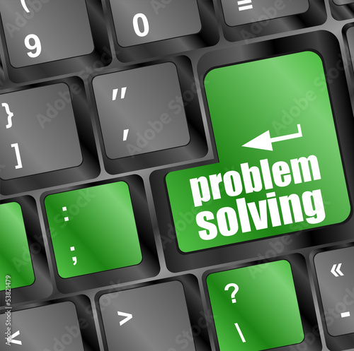 problem solving button on computer keyboard key