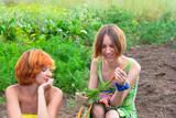 Two farmer woman