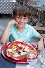 Pizza Jambon Mozzarelle - Garçon 7-8 ans