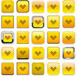 Square yellow download icons.
