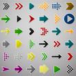 Color arrow icons.