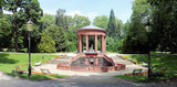 Elisabethenbrunnen Kurpark Bad Homburg Panorama - 2