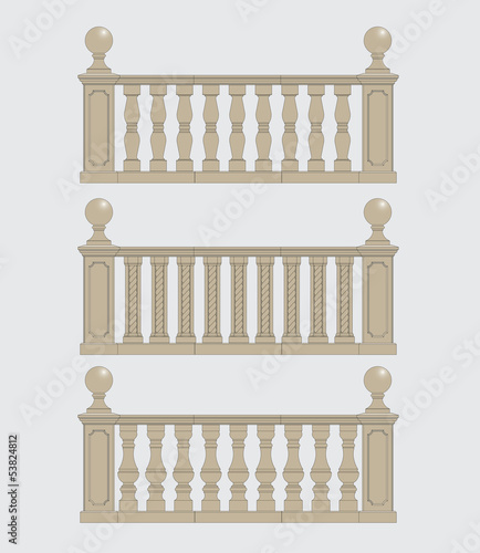 balustrade set 1