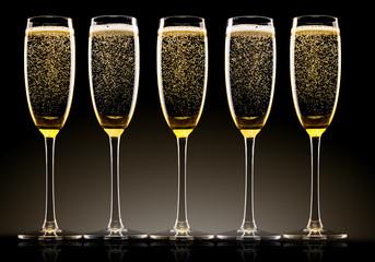 Champagne celebration theme