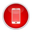 smartphone button rot rund