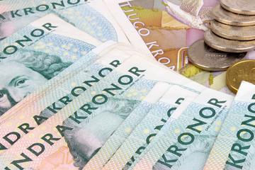 Swedish Kroner Notes & Coins