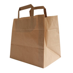 Sac papier kraft recyclable - 1