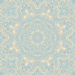 Ornamental round lace background_2