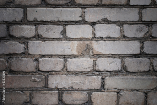 Old brick wall. Grunge texture