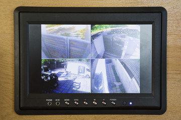 Security surveillance system at home