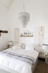 Interiors of a bedroom