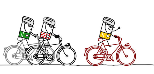 cyclists & Tour de France