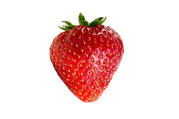 freigestellte Erdbeere