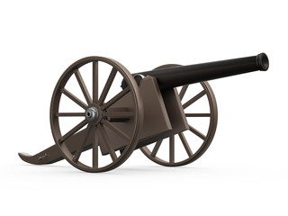 Old Cannon Isolated