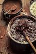 Mess when preparing homemade chocolate
