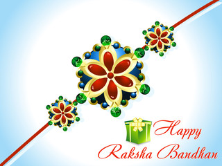 abstract raksha bandhan rakhi background