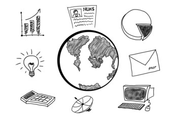 Doodle Business icons