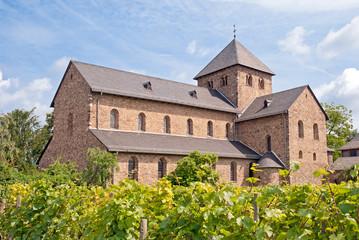 Älteste Basilika des Rheingaus: St. Ägidius in Oestrich-Winkel