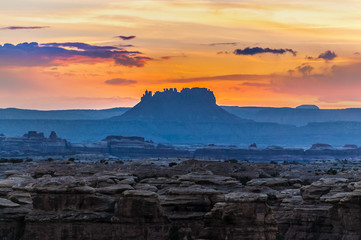 Sunrise in Needles District