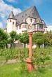 Schloss Schönborn in Geisenheim mit Marienbildnis