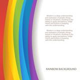 Fototapety rainbow background